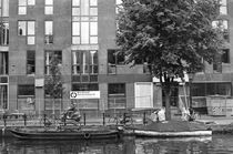 Amsterdam canal von Bogdan Grigorescu