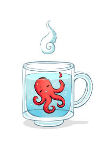 Octopus Tea von freeminds