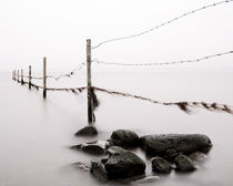Fence to nowhere by Mikael Svensson