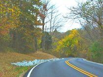 Rural Road in the Hills von skyler