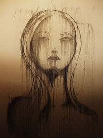 Ophelia (Portrait) von Justin Latimer