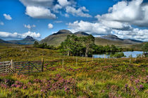 Mountains and Lochs Scotland by Jacqi Elmslie