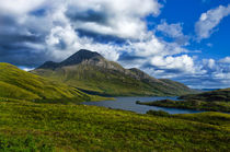 Scottish Highland Landscape von Jacqi Elmslie