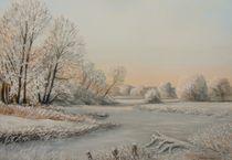 Wintermorgen  by Holger Hausmann
