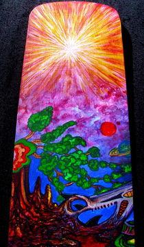 Acidoodling mini-panels ( Detail 2) by John Lanthier