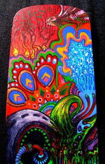 Acidoodling mini-panels ( Detail 1) by John Lanthier