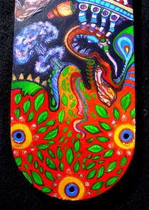 Acidoodling mini-panels ( Detail 9) by John Lanthier