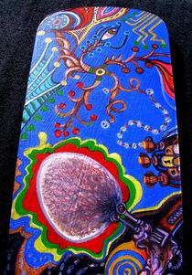 Acidoodling mini-panels ( Detail 8) by John Lanthier