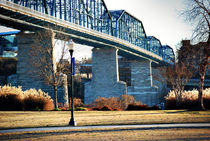 Walking Bridge at Coolidge Park von Melanie Mayne