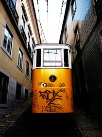Elevador do Lavra, Lisbon, Portugal by Eva-Maria Steger