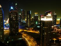 Dubai Skyline at night von Eva-Maria Steger
