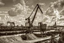Dortmund harbour von Barbara  Keichel