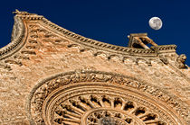The cathedral and the moon by Giuseppe Maria Galasso