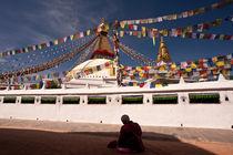 Boudha Stupa von Christian Behrens