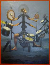 Monkey-Drummer (PO) by Ben Johansen