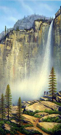 Misty Falls von Frank Wilson