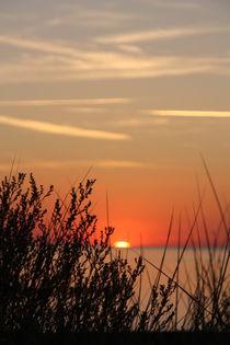 romantischer Sonnenuntergang 4 von Edeltraut K.  Schlichting