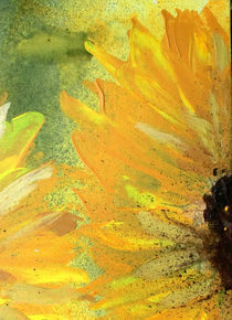 Helianthus | Detail I by Kerstin Kell