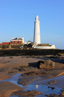 St Mary's Lighthouse by Dan Davidson