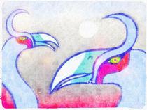 Ornitología imaginaria 04 by Mikel Cornejo Larrañaga