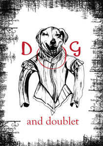 Dog in Doublet by Abiola  Famuyibo