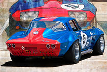 1965 Corvette Rear View by Stuart Row