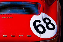 Red 1969 Porsche 911E by Stuart Row