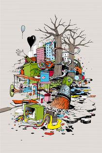 composition improvisée 3 by Pierre Coulanges