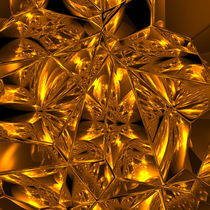 Crackled Gold by Frank Siegling