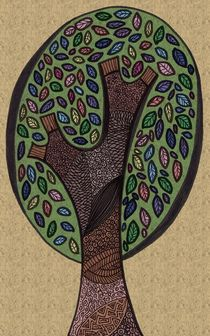 Pattern Tree by Tasha Goddard