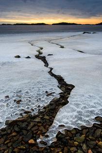 Ice crack by Mikael Svensson
