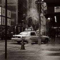 NY taxi by Matteo Angelotti