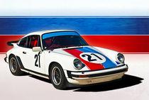White 1976 Porsche 911 von Stuart Row