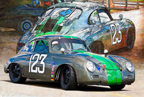 1958 Porsche 356A by Stuart Row