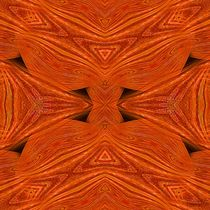 Undulating Orange 1 by Richard H. Jones