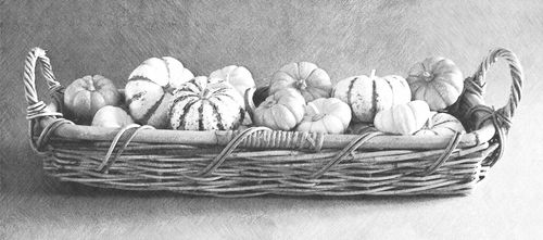 Fotosketcher-basket-of-gourds