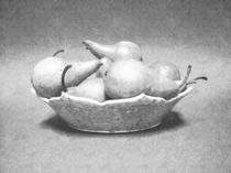 Pears In Bowl  by Frank Wilson