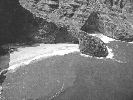 Fotosketcher-turtle-head-sea-cave-napali-coast-copy