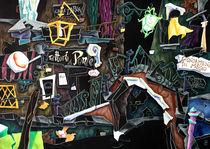 PoNTe DeL MeGio - Trattoria al Ponte, Venice Art Collage by nacasona