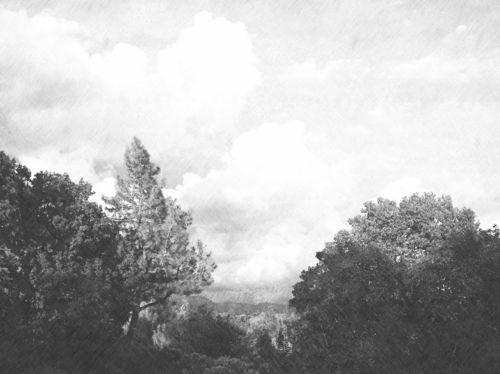 Fotosketcher-clouds