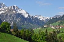 Mittelberg, Kleinwalsertal, Österreich by Matthias Hauser