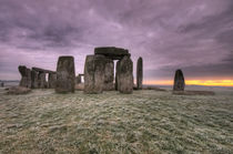 Dawn over the stones by Rob Hawkins
