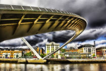 Gateshead Millennium Bridge von tkphotography