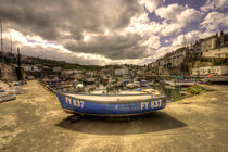 Fishing Boat at Mevagissy  by Rob Hawkins