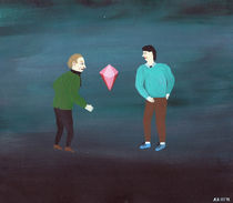 Pink Diamond von Angela Dalinger