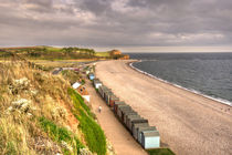 The Beach at Budleigh Salterton  by Rob Hawkins