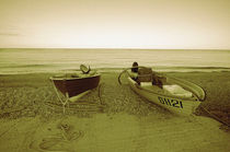Boats at Beesands by Rob Hawkins