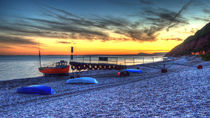 Fishing Boats at Branscombe  von Rob Hawkins