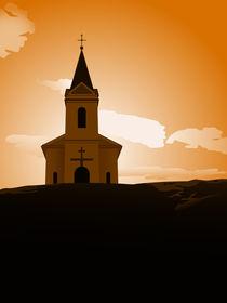 sunset chapel by Miro Kovacevic