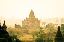 Temples in Pagan, Burma (Myanmar) von ingojez